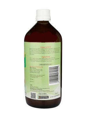 Dr.Patkar's Apple Cider Vinegar Garlic, Ginger, Lemon & Honey 500ml (Heart Remedy)