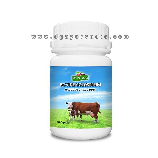Dr. Patkar's Bovine Colostrum (Nature's First Food Capsules)