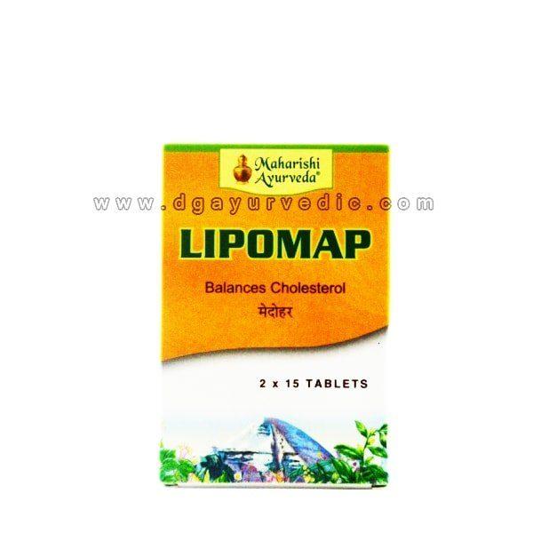 Maharishi Lipomap (Balances Cholesterol) Medohar 40 Tablets