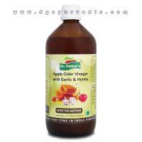 Dr. Patkar's Apple Cider Vinegar with Garlic & Honey 500 ml (Natural Anti-Biotic)