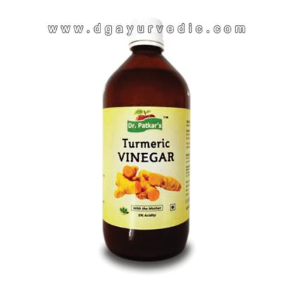 dr. patkar's Turmeric Vinegar with Mother (Anti-Inflammatory)
