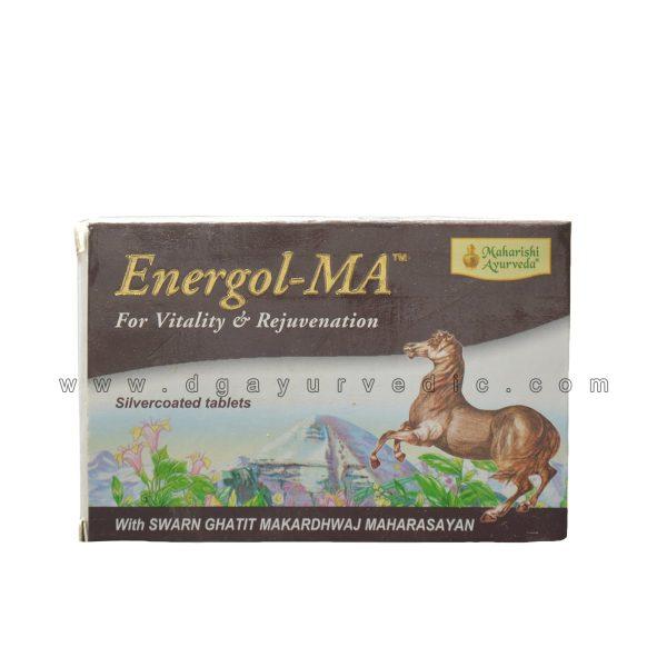 Maharishi Energol - MA (For Vitality & Rejuvenation) 20 Tablets