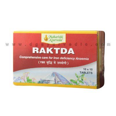 Maharishi Ayurveda Raktda (Iron Deficiency Anemia) 100 tablets