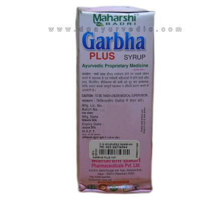 Maharshi Garbha Plus Syrup (A Herbo Mineral Remedy) 200 ml