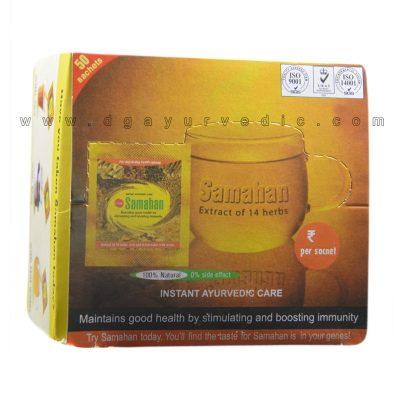 Link Samahan - An Extract of 14 Herbs (Cold and Flu) 50 Sachets