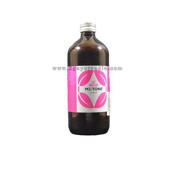 Charak M2 Tone Syrup (Regulates Period Menstruation)