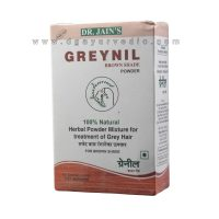 Dr. Jain Greynil Brown Shade Powder (Herbal Treatment for Grey Hairs)