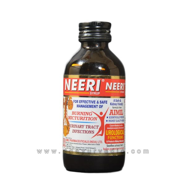 Aimil Neeri Syrup (Resolves and Dissolves Urinary Stones and Infection)