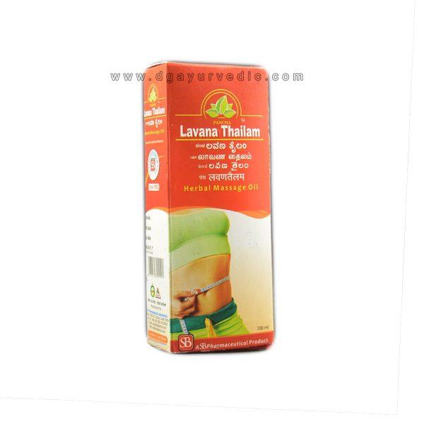 Pancha Lavana Thailam 100ml (Removes Excess Fats)
