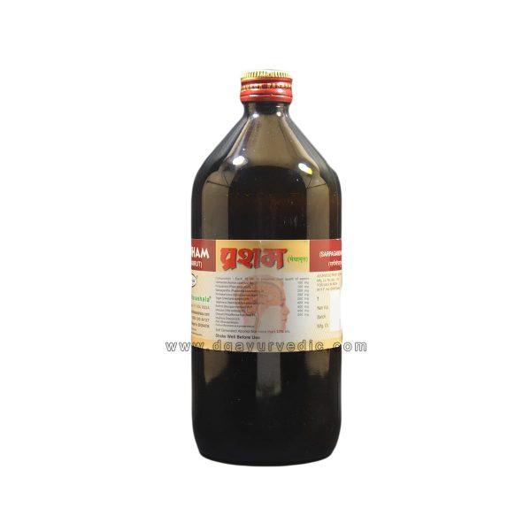 Rasashala Prasham (Medhamrut) Syrup Sarpagandhayukta (Brain Tonic)