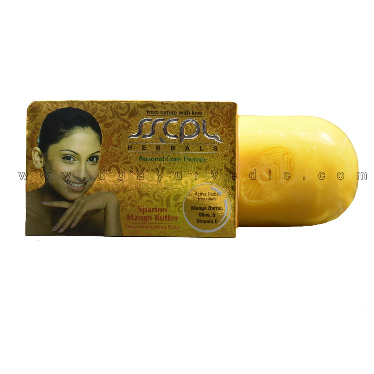 Sscpl Sparino Mango Butter Deep Moisturizing Soap 100 Gms