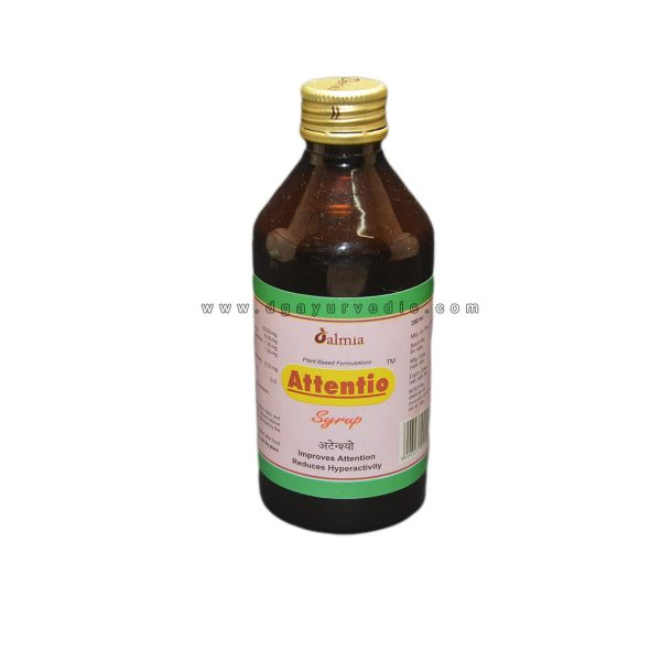 Dalmia Attentio Syrup 200ml (Improves Attention and Reduces Hyper Activity)