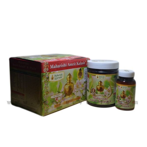 Maharishi Amrit Kalash Combo Pack (Rasayana for Health & Longevity) MAK 4 + MAK 5