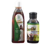 Guaranteed Hairfall Treatment | Deergha Hair Oil 100 ml + Deergha Shampoo 100 ml