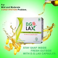 D.G.Lax Castor Oil 100% Veg 60 Capsules